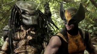 WOLVERINE vs PREDATOR - Super Power Beat Down (Episode 9)