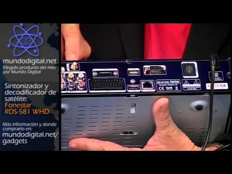FoneStar RDS-581 WHD Decodificador de Nagra3