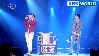 Shin Yongjae sings