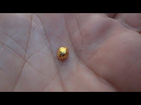 Золото из земли. Используем простые вещества. Супер крутой результат_100%
