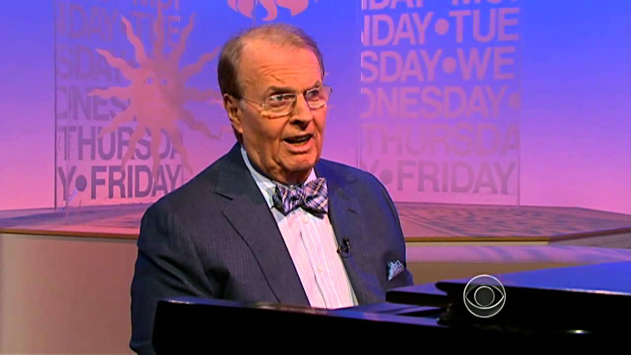 Charles Osgood Young Charles Osgood Sings For His