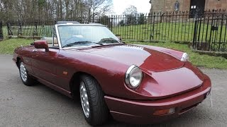 1990 Alfa Romeo Spider Review