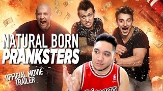 Natural Born Pranksters Official Movie Trailer REACTION!!!