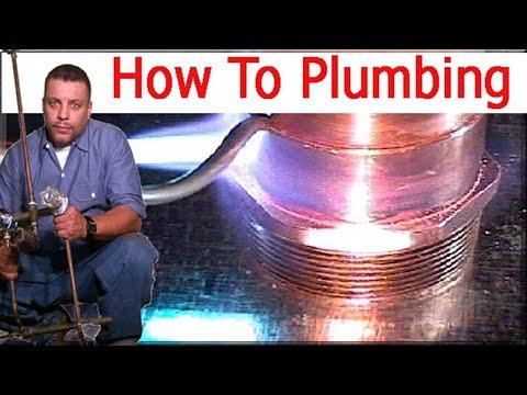 comment faire pour souder un tuyau de cuivre et 1 maison de nouvelle tuyauterie de 14 youtube. Black Bedroom Furniture Sets. Home Design Ideas