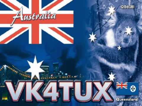 7149 kHz - QSO between VK4TUX and IX1CKN