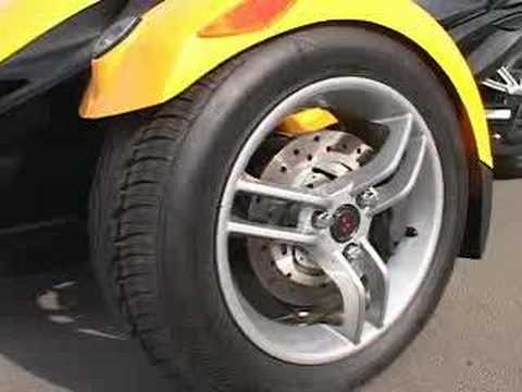 Throttle Jockey: 2008 BRP Can-Am Spyder Video