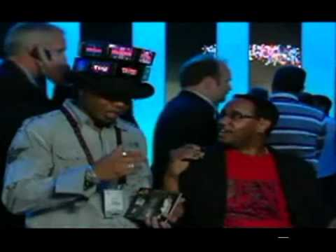 Video Name Tag Interupts Mario Armstrong's Live CES Broadcast.avi