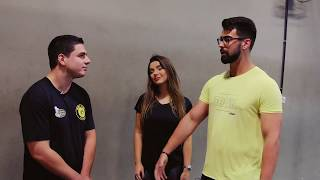 TVK - Camila Teixeira quebra tudo na Korpus