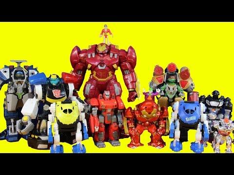 Imaginext Robot Wars Episode 6 TMNT Hulkbuster Batman Joker Rescue Bots Chase Shredder