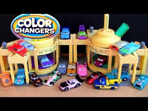 26 Color Changers Cars Ramone Playset CARS 2 Ramone House of Body Art Disney Pixar colour shifters