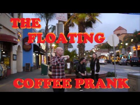 Floating Starbucks Coffee Prank