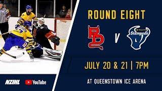 NZIHL 2018 | Round 8 Game 30: Canterbury Red Devils v Skycity Stampede - July 21