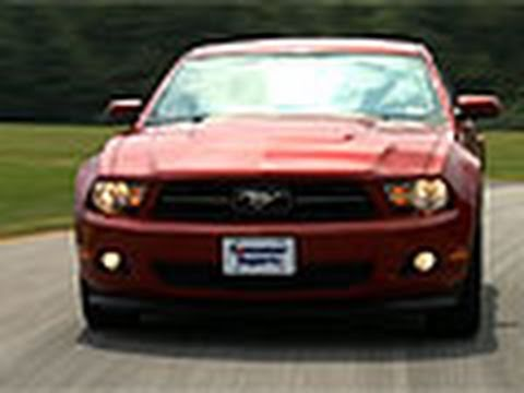 Ford Mustang: Consumer Reports 2012 Top Pick Sporty Car