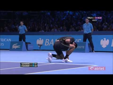 Novak Djokovic Vs. Roger Federer | 2012 ATP World Tour Finals F | Highlights (FULL HD)