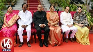 KCR Photo Session After Taking Oath As Telangana CM  - netivaarthalu.com