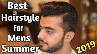 Best Hairstyle For Mens 2019 Summer | Big Volume Quiff Mens Haircut | Best Hairstyle