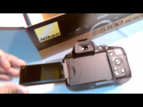 unboxing - desenpacando nikon D5100 18-55 VR kid & lente 55-200 [hd]