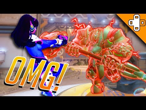 LOOK OUT D.VA! Overwatch Funny & Epic Moments 363
