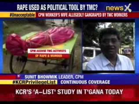 CPM worker's wife allegedly gang-raped by TMC workers