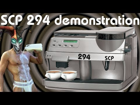 The Many Drinks & Liquids of SCP 294 - SCP Containment Breach