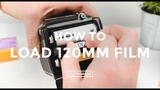 How to Load 120mm Film (Using Mamiya M645)