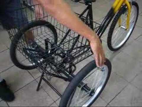 Kit Triciclo em funcionamento