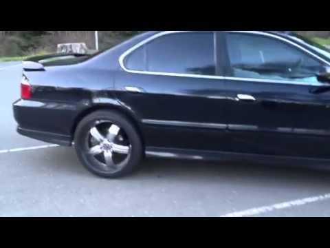 2003 Acura tl type-s custom rims - YouTube