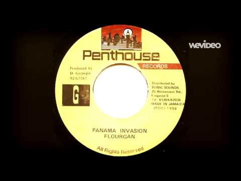 Flourgon,'Panama Invasion'.(Dancehall 1990)