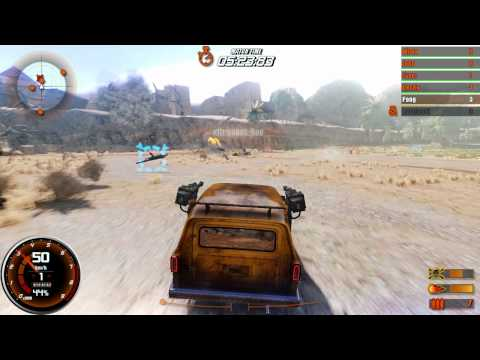 GasGuzzlers: Combat Carnage Multiplayer Deathmatch Trailer