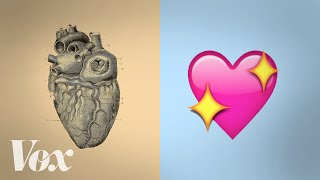 How the heart became ♥