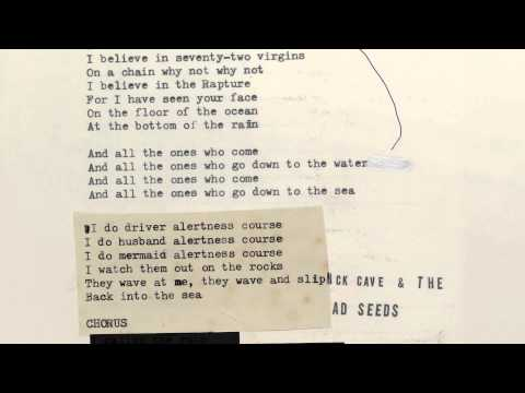 Nick Cave &amp; The Bad Seeds - Mermaids (Lyric Video)