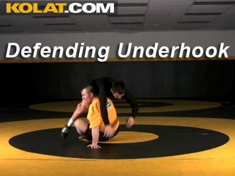 Defending The Underhook KOLAT.COM Wrestling Techniques Moves Instruction Image 1