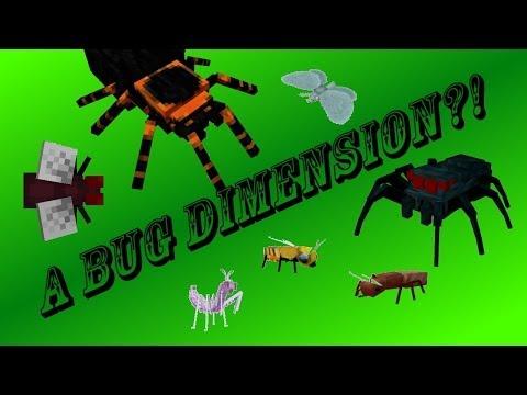 A BUG DIMENSION?! - The Erebus Mod