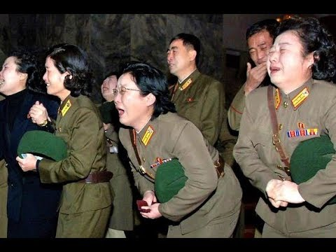 KCTV (Korean People crying to their leader Kim Jong Il) 1/3