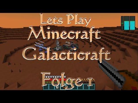 Lets Play Minecraft Galacticraft S4 Folge #01 (66) Wilkommen Auf dem Mars (Full-HD)