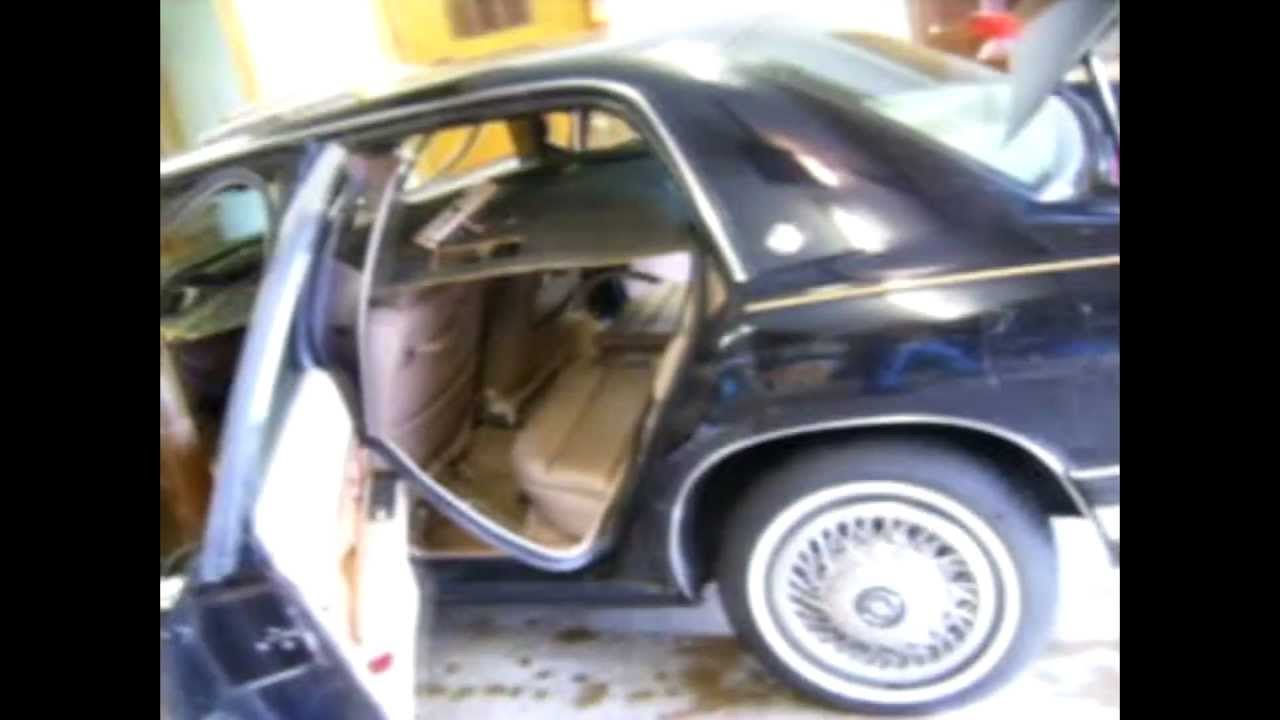 Headliner Replacement in a 1991 Buick Park Avenue - YouTube