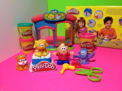Play Doh Fuzzy Pet Playset PlayDough Pets Review from Play Doh The_Engineering_Family