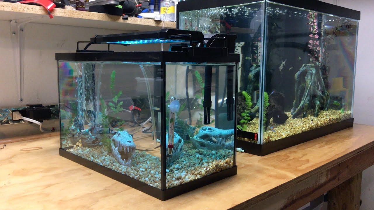 Как сделать подсветку для аквариум 913