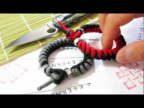 snake knot bracelet instructions