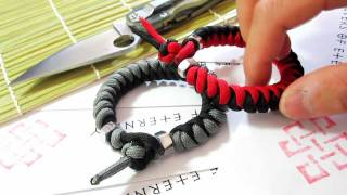 Just a Quickie... Snake Knot Bracelets! (Tutorial in Description)