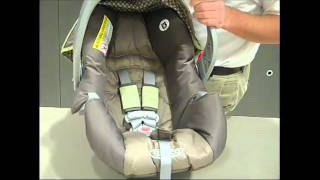 How-to re-thread the harness on a Graco infant car seat