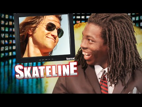 SKATELINE - Jerry Gurney, Mark Suciu 2, Yaje Popson, Nollie Heel 20 Stair Attempt!?