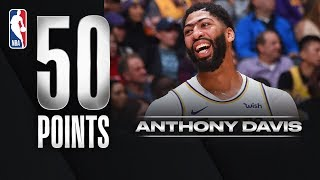 Anthony Davis Drops Season-High 50 PTS!