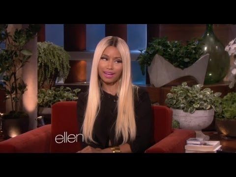 NICKI MINAJ TALKS MILEY CYRUS TWERKING ON ELLEN SHOW