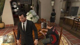 Grand Theft Auto V family glitch lol