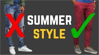 5 Ways to Improve Your Style This Summer