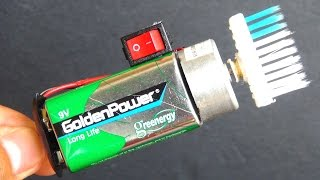 How to Make a mini Electric Cleaner | Very Simple