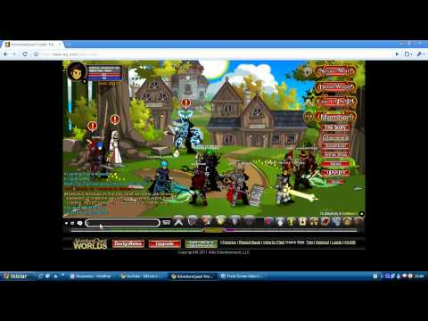 Watch Como passar de nivel rápido no AQW