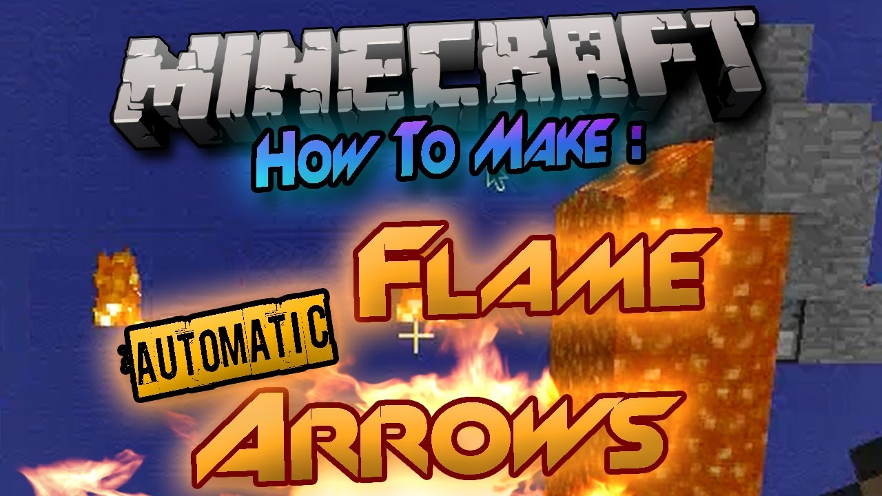 how to build arrow lair in mine craft