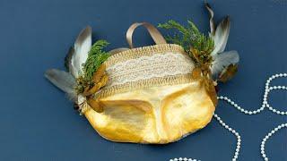 Как сделать декоративную маску из папье-маше своими руками